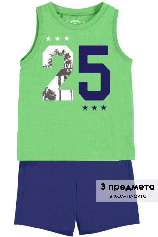 Футболка+майка+шорты комплект 3.610/91 Mayoral